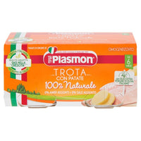PLASMON BABY FOOD PUREE FISH GR 80 X 2 TROUT