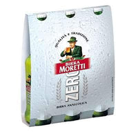 MORETTI BEER CL 33 X 3 ZERO NO ALCOHOL