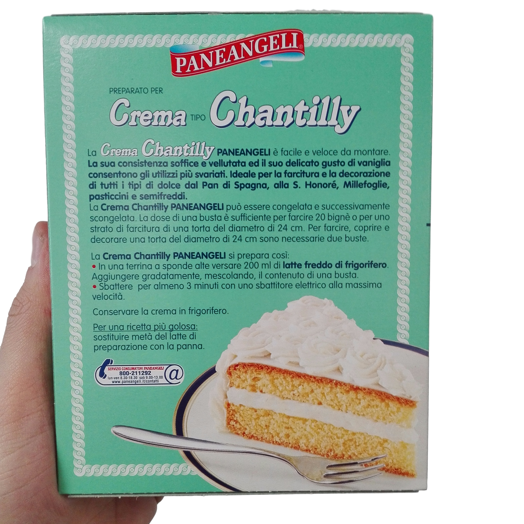 Paneangeli Prep For Chantilly Cream Gr 114 Mydelibox