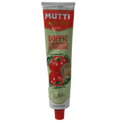 MUTTI DOUBLE PUREE TOMATOE CONCENTRATE ML 130 IN TUBE