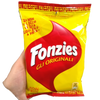 FONZIES CORN CRISPS GR 40 BAG