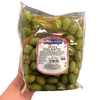MAMMA MARIA GR 400 BIG GREEN PITTED OLIVES IN BRINE