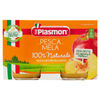 PLASMON BABY FOOD PUREE FRUIT GR 80 X 2 PEACH AND APPLE