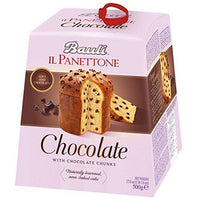 BAULI PANETTONE GR 500 WITH CHOCOLATE CHIPS