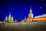 RED SQUARE NIGHTS I