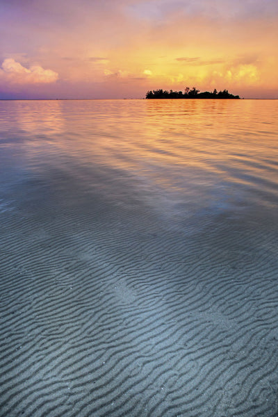 Sundown Sand Ripples