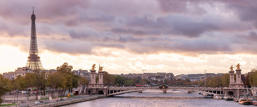 EIFFEL TOWER & THE SEINE