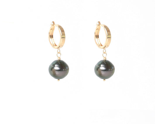 Earrings: South Sea Pearl