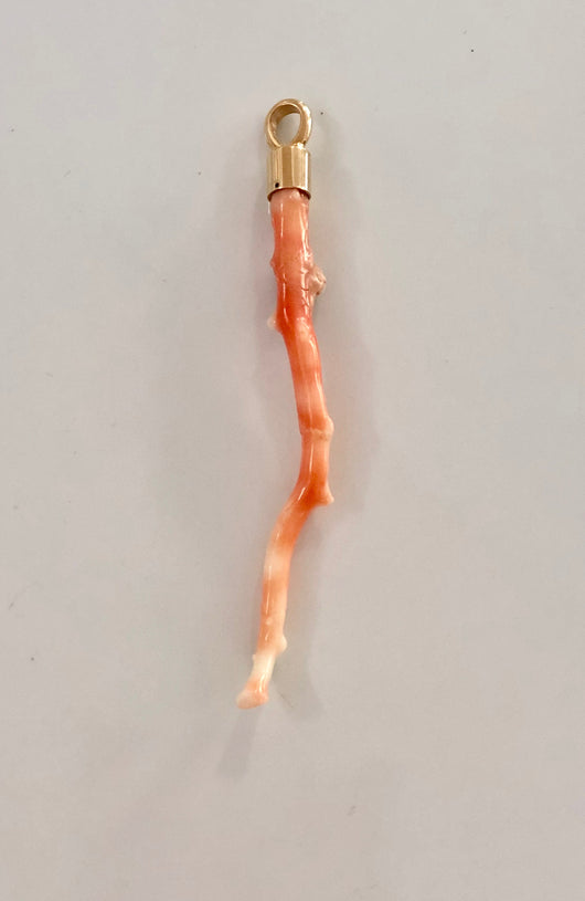 Pink Coral Pendant