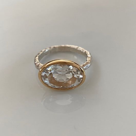 Ring: Clear Quartz