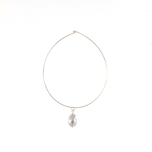 Necklace: Baroque Pearl Choker