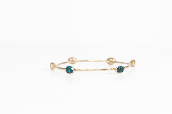 Bangle w/ London Blue Topaz