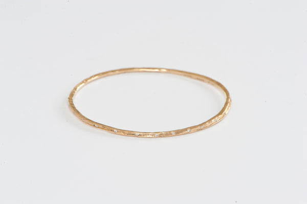 Bangle w/ Diamonds
