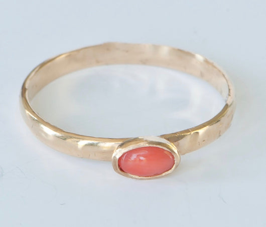 Ring in Red Coral