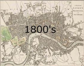 Old Map Of London The Old London Map Company - London map 1600