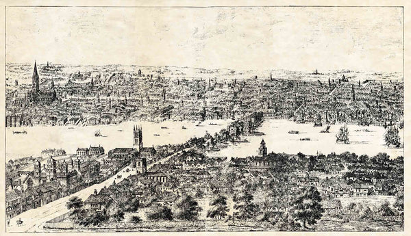 Panorama of London 1543 (2)