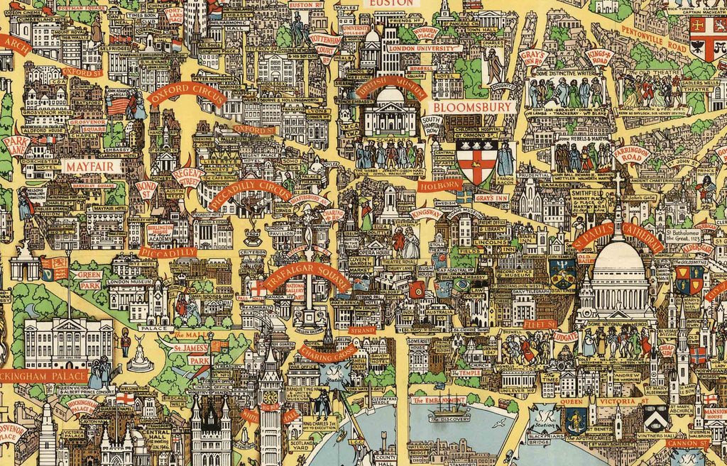 City London Map.Old London Maps The Bastion Of Liberty