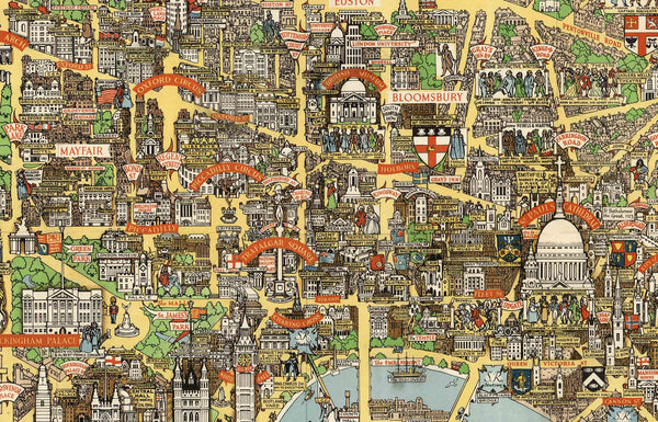 Old London Maps: The Bastion of Liberty