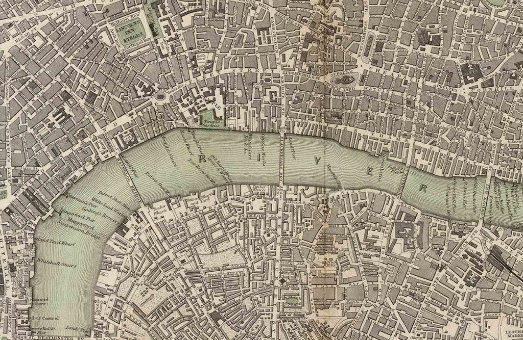 Historical Map Of London The Old London Map Company - London map historical