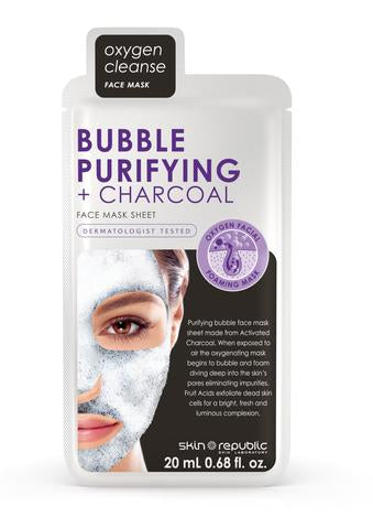 Bubble Purifying & Charcoal Face Mask Sheet 20ml