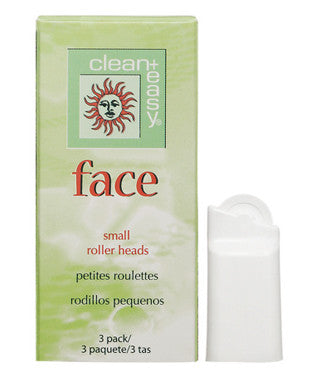 Clean & Easy Face Roller Heads Small 3 Pack