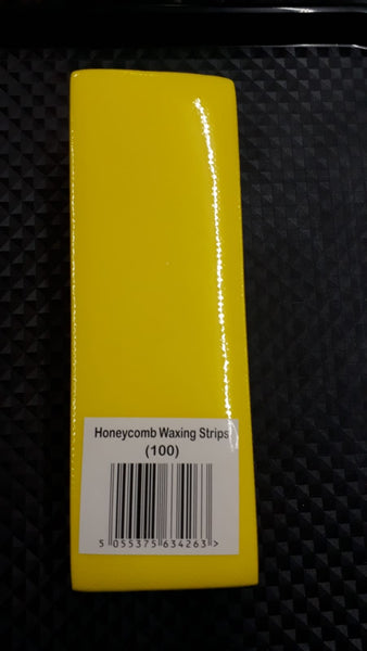 Honeycomb Wax Strips - 100 Strips