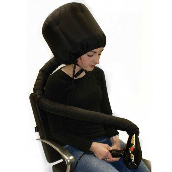 Hair Tools Black Portable Hairdryer Hood