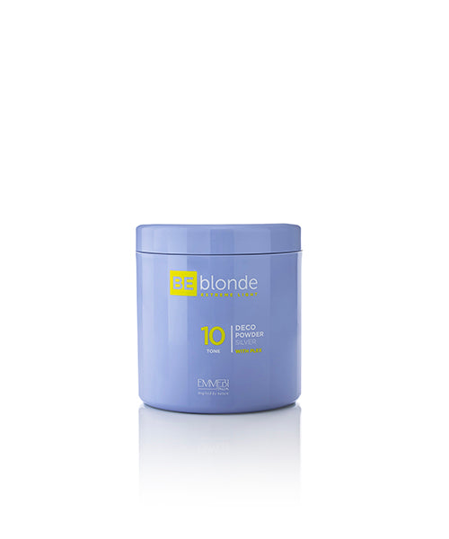BE BLONDE DECO POWDER SILVER 10 500g