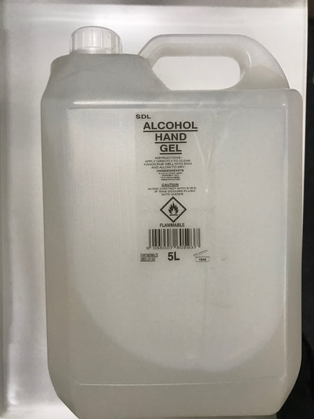 5 Litre Alcohol Hand Gel