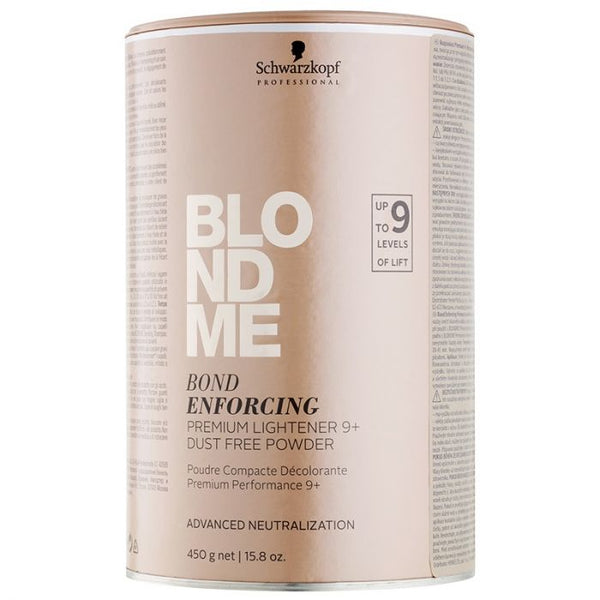 BLONDME Schwarzkopf bond enforcing Premium Lightener Bleach Peroxide