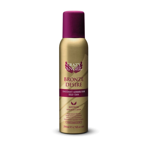 CRAZY ANGEL Bronze Desire Instant Airbrush Self-Tan Spray 200ml
