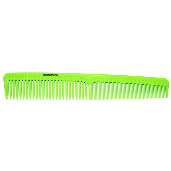DENMAN LIME GREEN WAVER COMB PRECISION DPC5