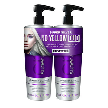 Osmo Deep Super Silver: No Yellow Shampoo & Mask DUO