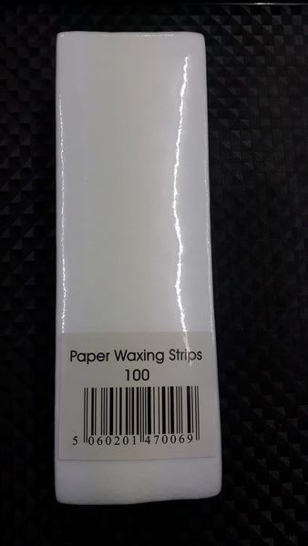 White Paper Waxing Strips - 100 Strips