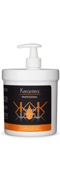Kerantea Professional Mascarilla Nutricion con Keratin y Argan 1000ml - Keratin and Argan Oil Nutrition Mask