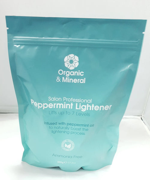 Organic & Mineral Peppermint Lightener Ammonia Free 500g