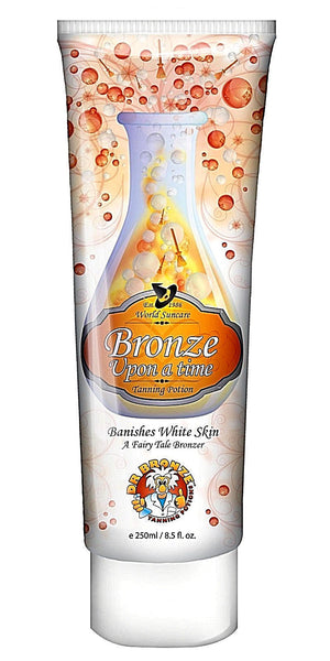 POWER TAN BRONZE UPON A TIME DARK SUNBED TANNING LOTION CREAM 250ML NON TINGLE