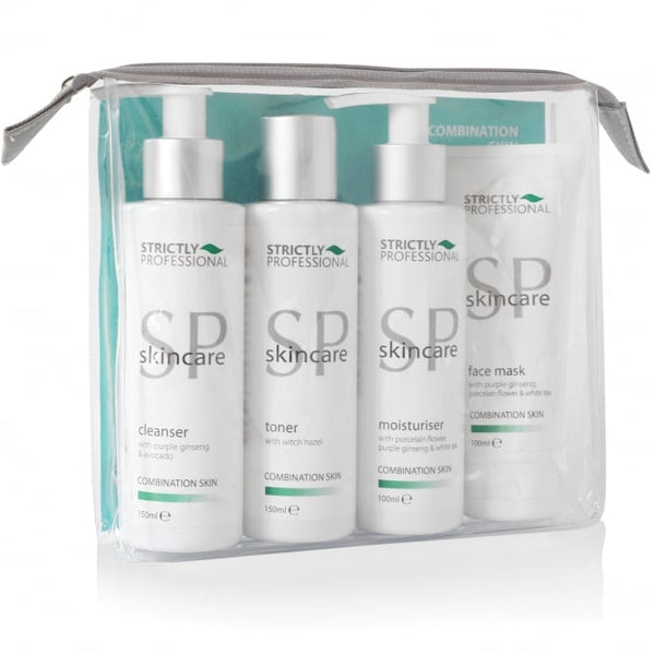 STRICTLY PROFESSIONAL Facial Care Kit for Combination Skin - VEGAN