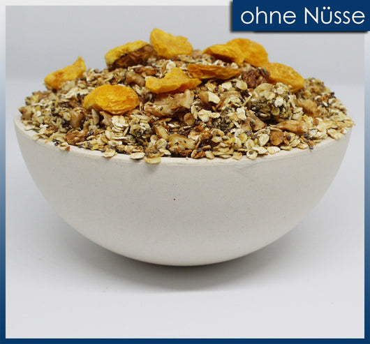 Orange Summer Granola ohne Nüsse