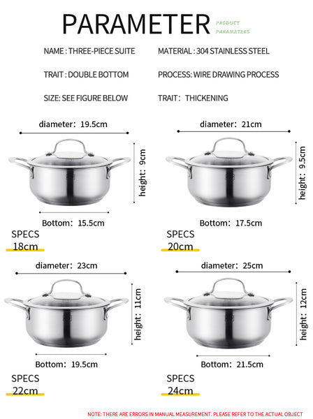 AS-S20 Superior series single pot 20cm.