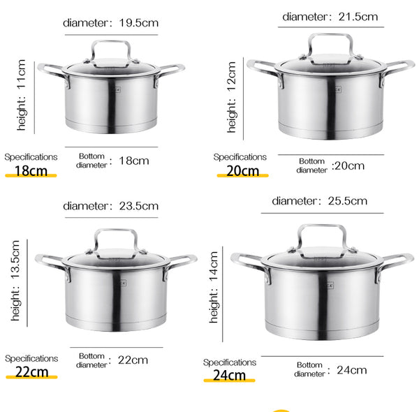 AE-S18 Eureka series single pot 18cm