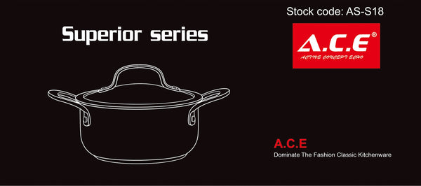 AS-S18 Superior series single pot 18cm.