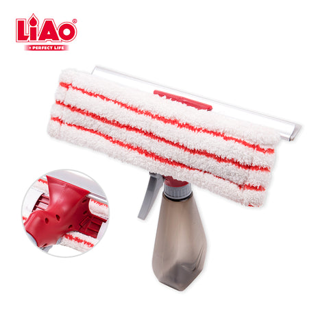 B0064 Amazing 3 in 1 spray squeegee multifunction Spray Clean Scrape spray window cleaner wiper