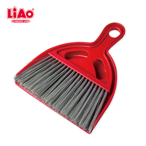 C0010 Hand Held Dustpan and Brush Set Mini Plastic Dustpan and Broom Set