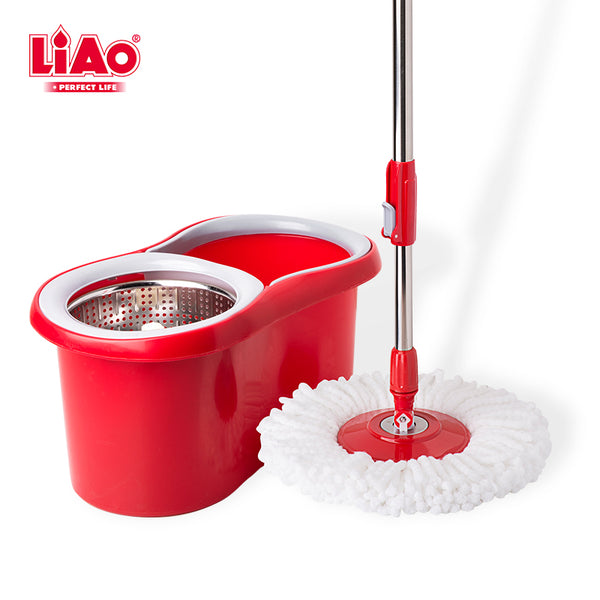 T0034 Household Magic Mop Easy Tornado With Mop Bucket Floor Cleaner Mop