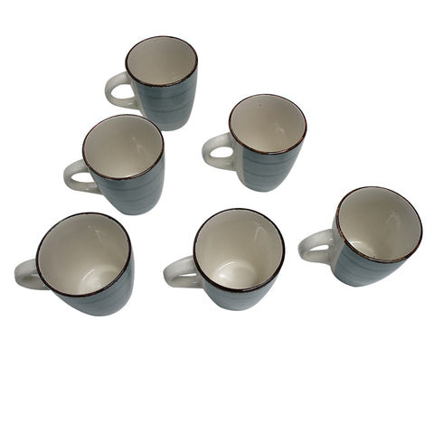 Porcelain Mug (0753) set of 6