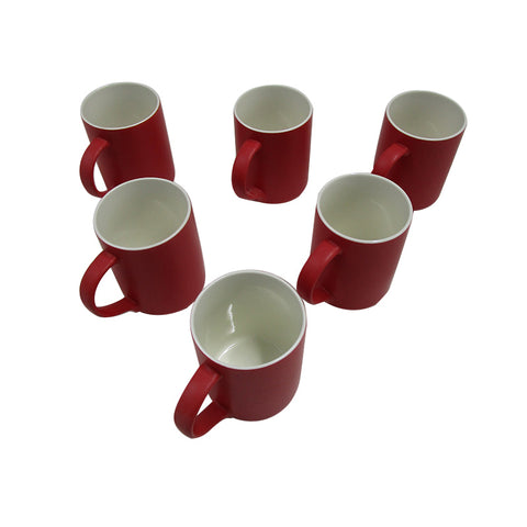 Porcelain Mug (1081) set of 6