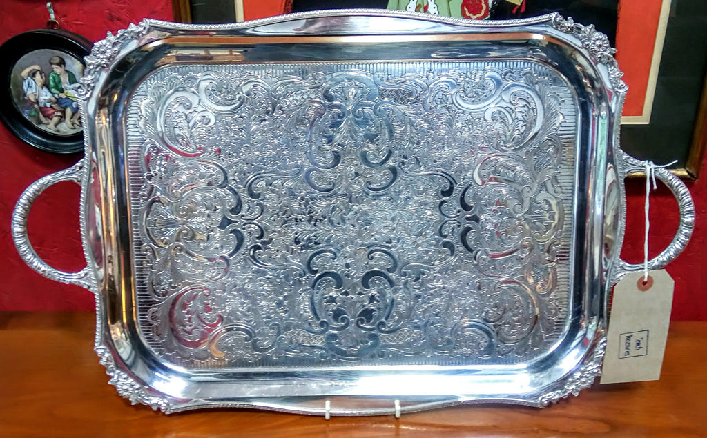 Alpha Plate Serving Tray