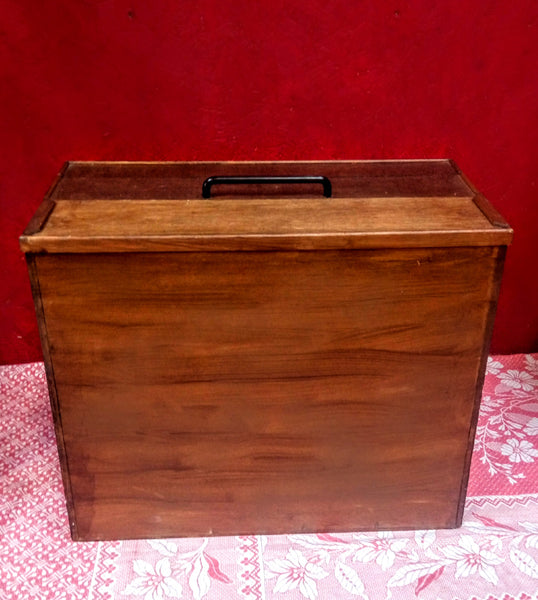 Large Mid-Century Art Box / Carry Case