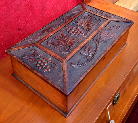 Black Forest Style Jewellery Box